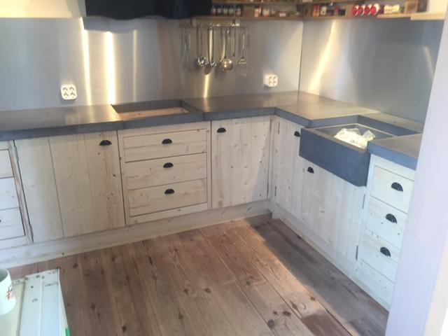 Steigerhout Keuken Kopen : Buitenkeuken van steigerhout samenstellen en bestellen